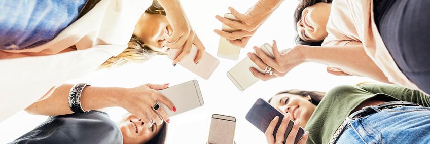 Telefonare con smartphone