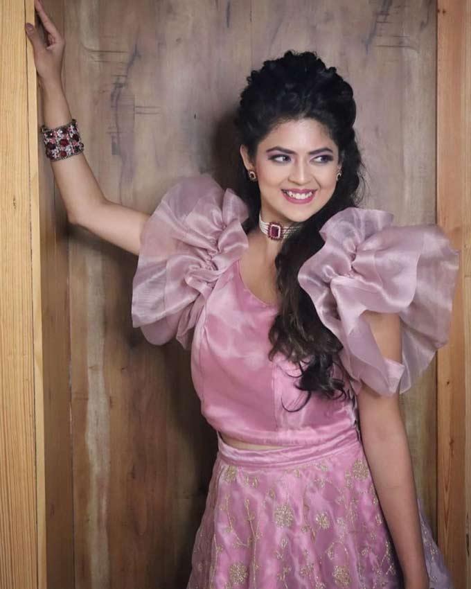 Telugu Serial Actress Mansi Joshi Images
