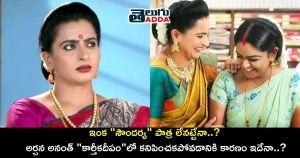 Reason behind Archana Ananth not seen in Karthika deepam serial