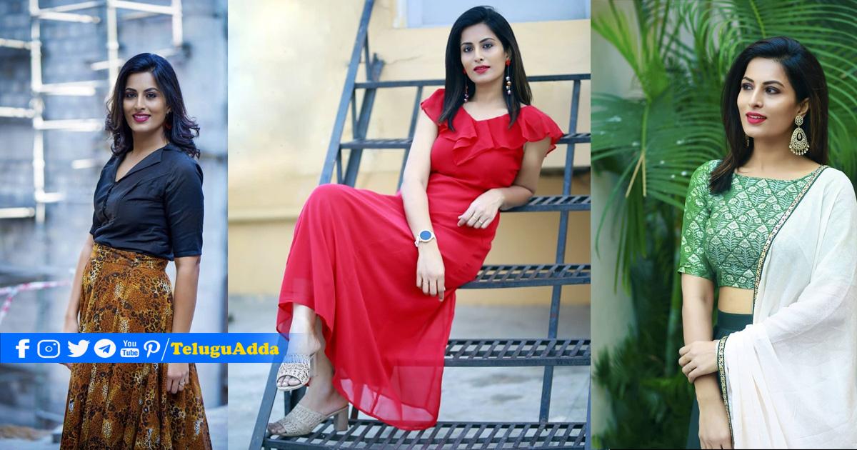 TV9 Anchor Pratyusha Images :