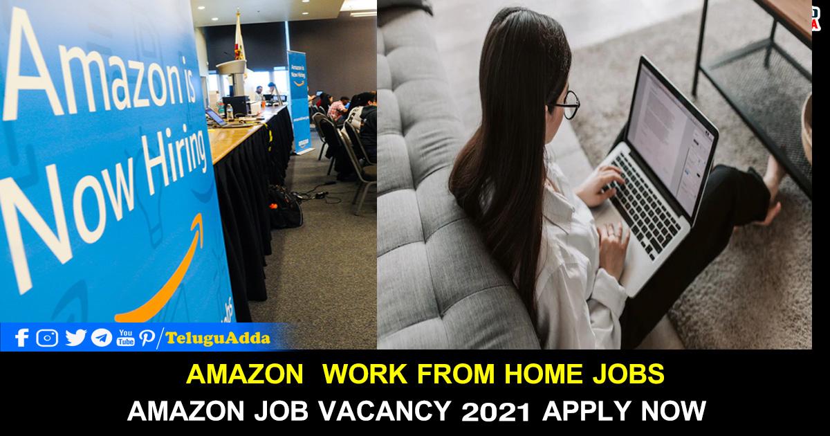 Amazon Job Vacancy 2021 Apply Now