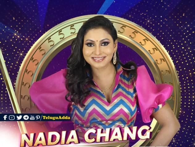 Bigg Boss 5 Tamil 10th Contestant Nadia Chang