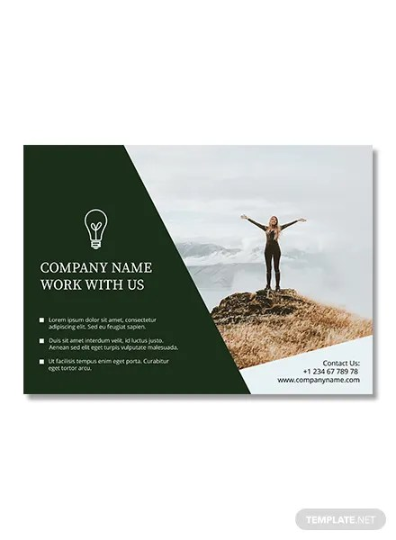 Free Half Page Flyer Template In Adobe Photoshop Microsoft Word Publisher Apple Pages
