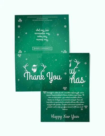 59 Free Christmas Card Templates Word Psd Apple Mac