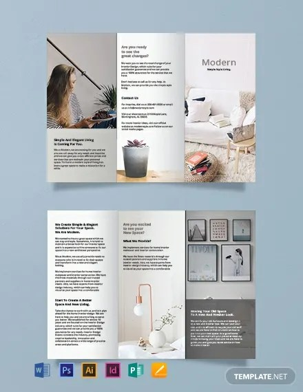 211 Free Brochure Templates In Microsoft Publisher