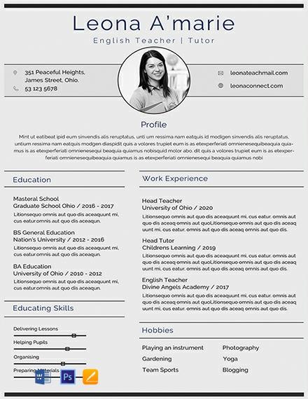 Free Creative Resume Templates Edit Download Template Net