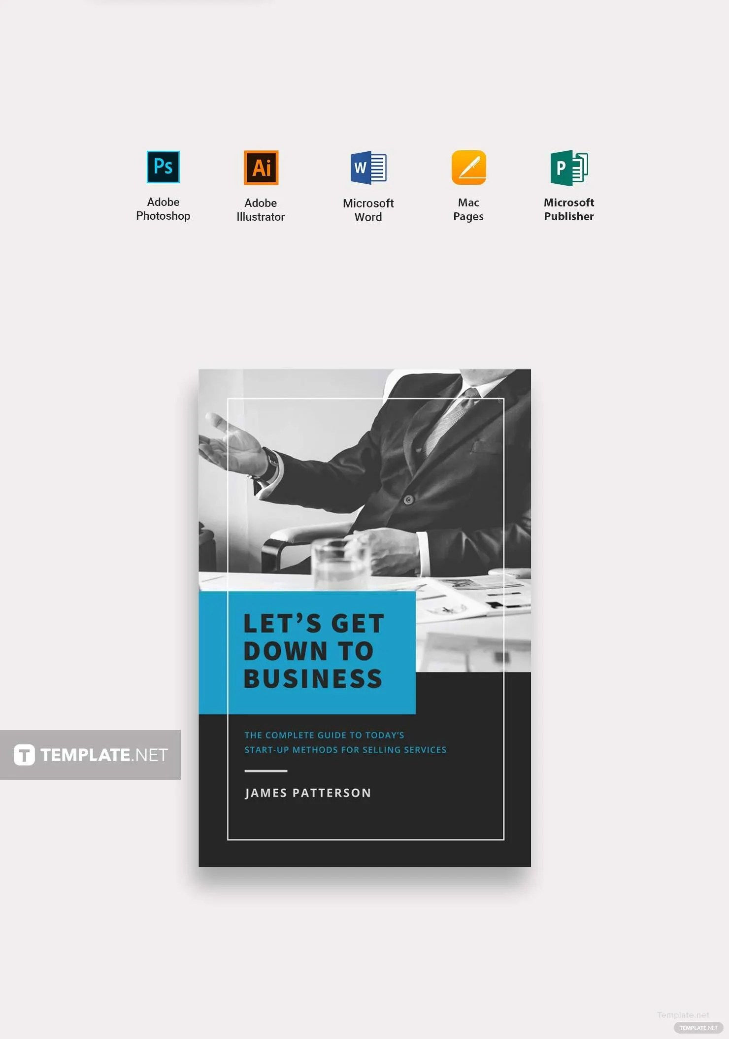 Free Professional Book Cover Template In Microsoft Word