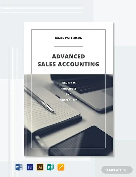 FREE Accounting Book Cover Template Word PSD InDesign Apple Pages Publisher