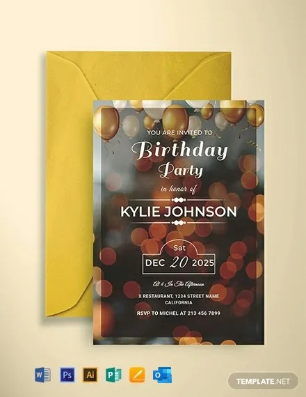 427 Free Invitation Templates Pdf