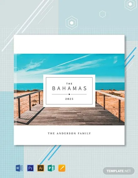 FREE Travel Photobook Cover Template Download 106 Book Covers In PSD Illustrator InDesign