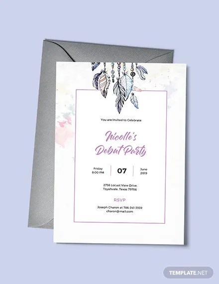 Printable Invitation Cards Birthday Party