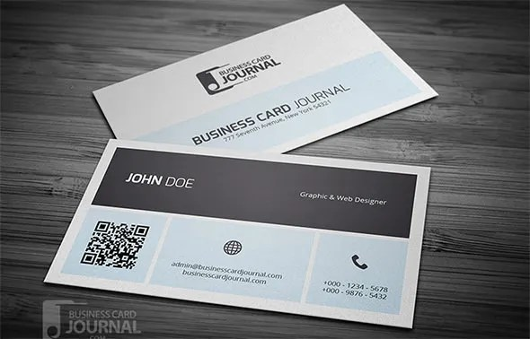 34 Best QR Code Business Card Identity Mockups PSD Word Publisher Free Amp Premium Templates