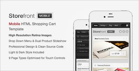 41 JQuery Mobile Themes Templates Free Premium