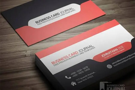 53  Best Premium Business Card Template Designs   Free   Premium     Stylish   Modern Tab Design Business Card Template