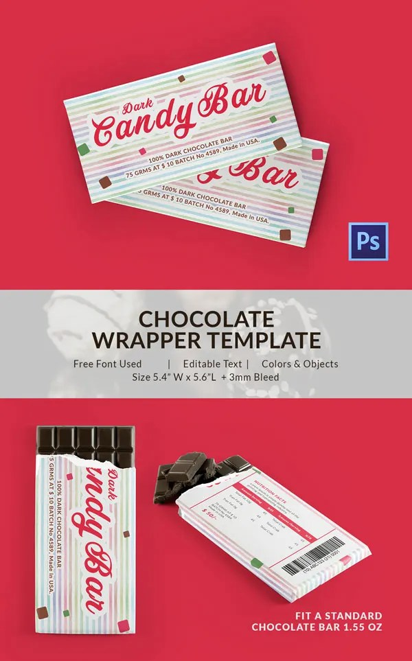 25 Excellent Chocolate Packaging Designs Free Amp Premium Templates