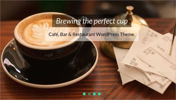 12 Coffee Shop Website Themes Templates Free Premium