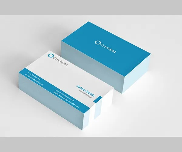 images for two sided business card template