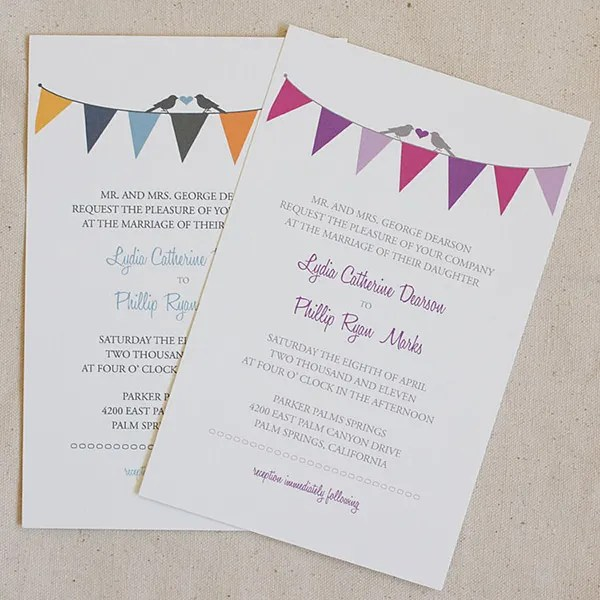 Free Wedding Invitation Templates With Rsvp