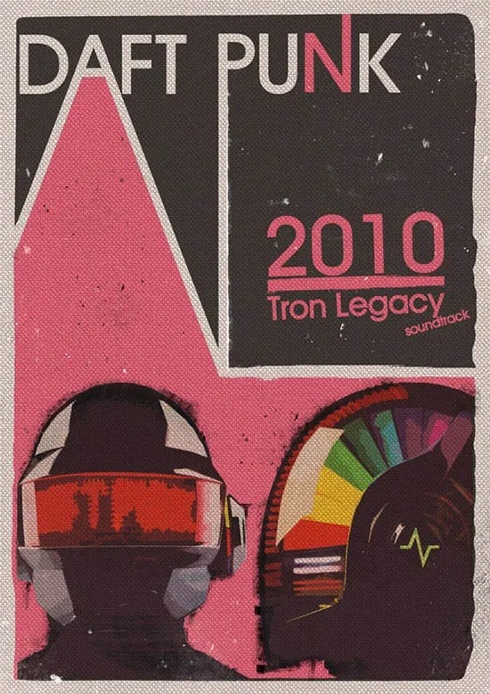 25 Best Daft Punk Posters Collection For Download Free Premium Templates