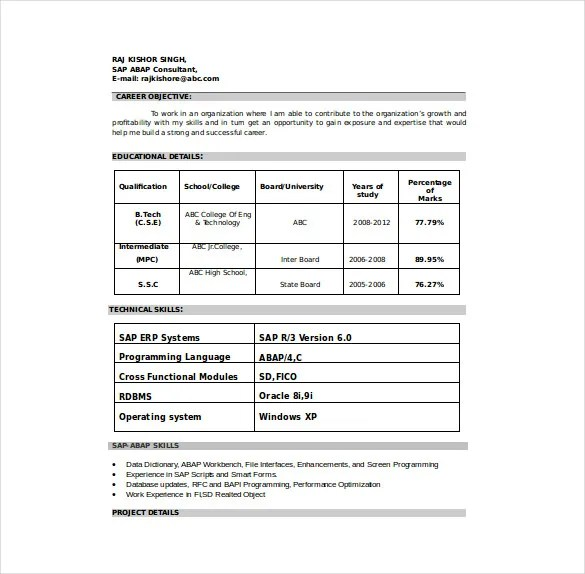 Word Resume Format Download. 99 Free Samples Examples. Blank