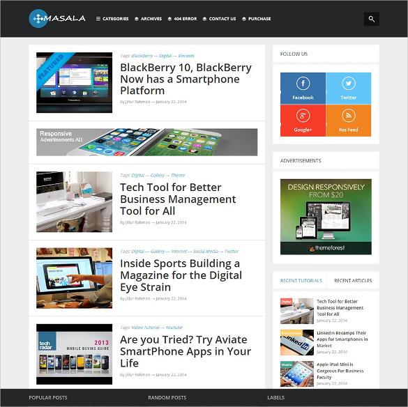 30 Best Seo Blog Templates Free Premium Themes Free