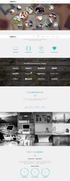 25  Best Free CSS3 Websites Templates for Design Inspiration   Free     CreatiX Responsive CSS3 Theme