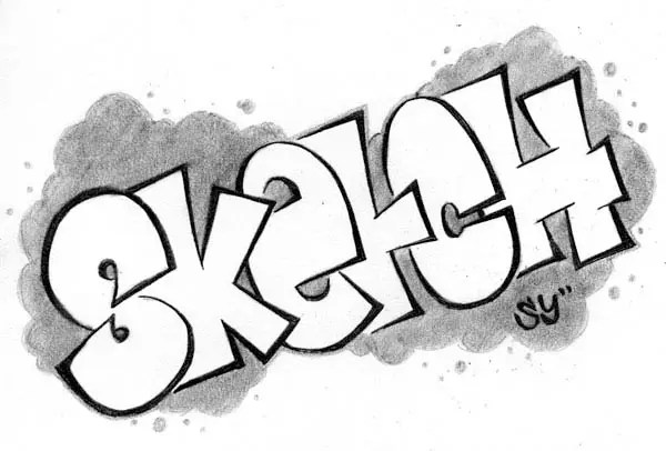 Love Cool Easy Graffiti Drawings