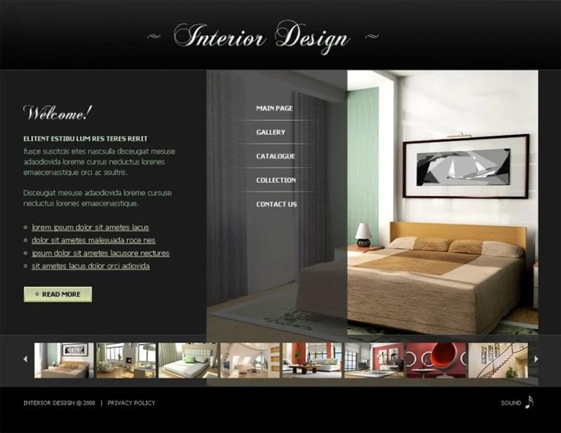 Interior Design Portfolio Template Free