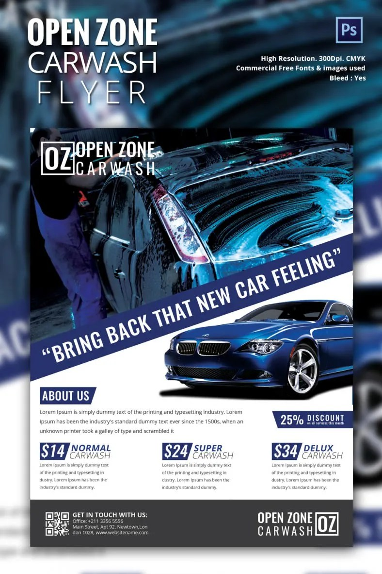 Doc700434 Car Ad Template Auto Detailing Flyer and Ad – Car Ad Template
