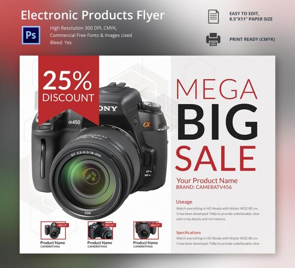 free flyer templates download flyer designs free product showcase – Free Product Flyer Templates