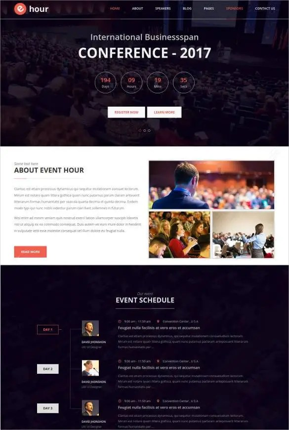 Basketball Website Template 41709
