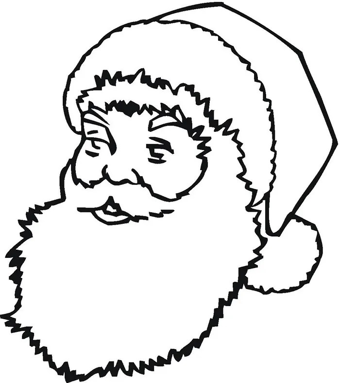 60 best santa templates shapes crafts amp colouring pages free