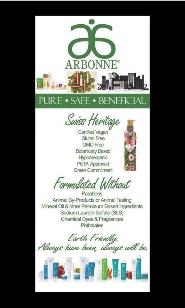 Arbonne Makeup Party Invitations