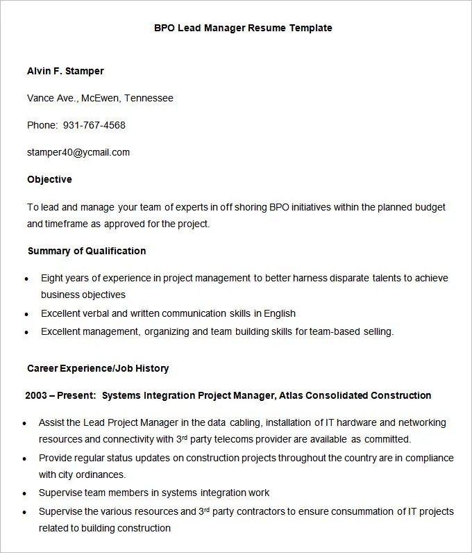 How To Make Resume Results Oriented Example Good Resume Template Pinterest  Results Oriented Resume