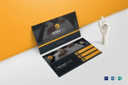 68  Best PSD Business Card Templates   Free   Premium Templates Double Sided Business Card Template