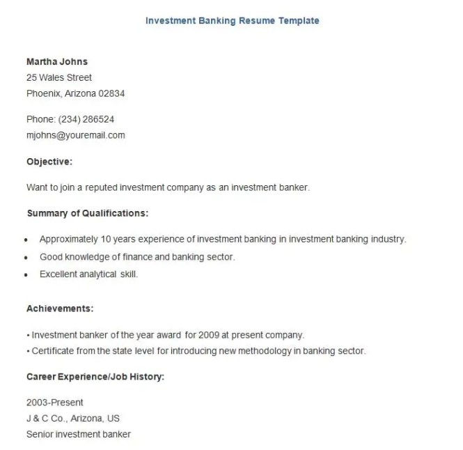 banking resume template 21 free samples examples format