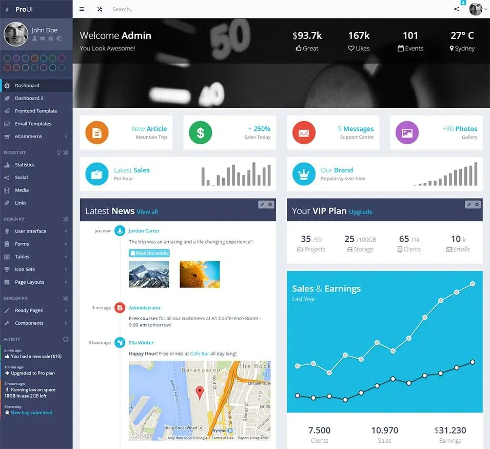 35 Best Bootstrap Design Templates Amp Themes Free Amp Premium Templates