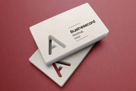 68  Best PSD Business Card Templates   Free   Premium Templates psd business card mock up vol23