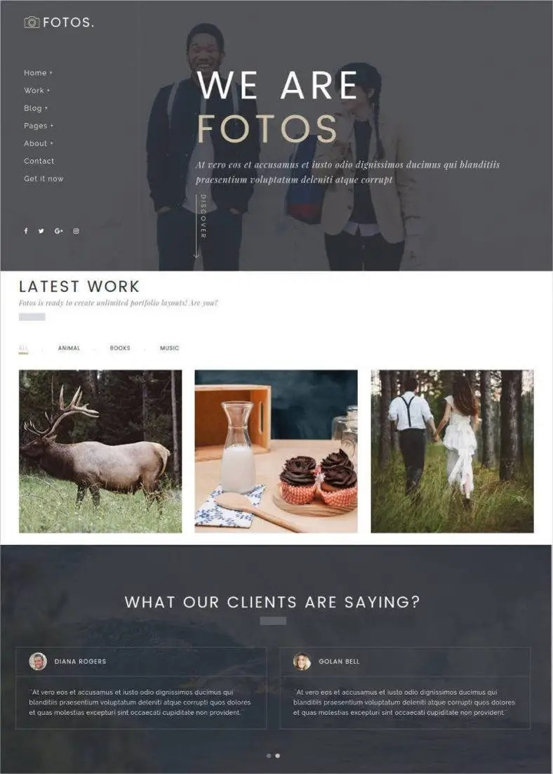 Gallery For Website Bootstrap | oceanfur23 com