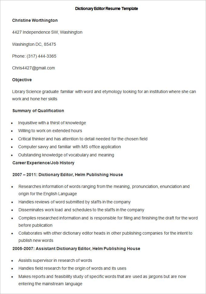 editor resume sample free editor resume sample resume editor free