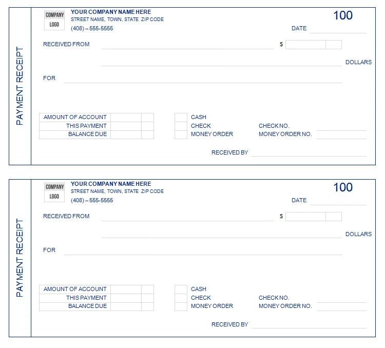 Pages Receipt Template commercial invoice pdf – Payment Receipt Book