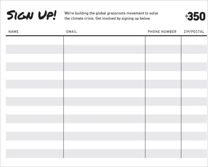 Doc728919 Club Sign Up Sheet Template Free Club Sign up Sheet – Free Printable Sign Up Sheet Template