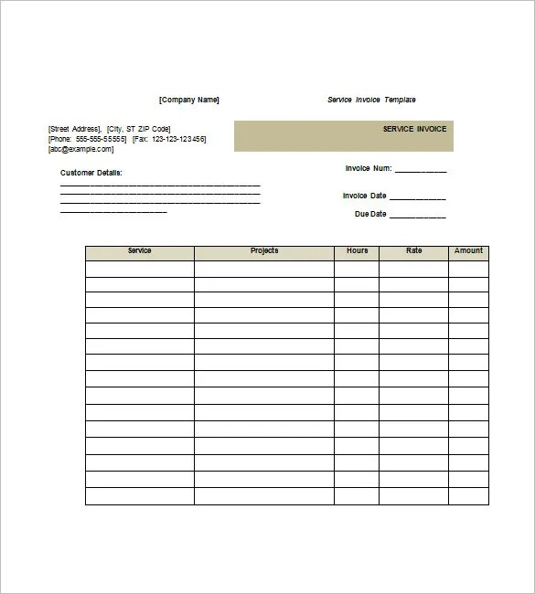 How To Make Invoice In Word How to Make a Billing InvoiceFree – How to Make a Invoice on Word