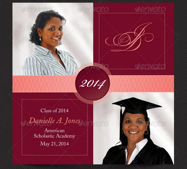 Sample High School Graduation Invitations