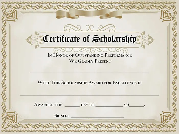 Award Template Free award certificates funny and words on – Free Award Template
