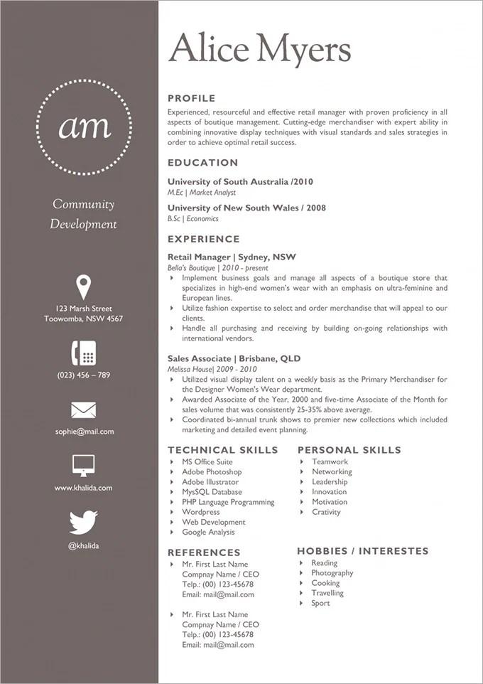 the fancy resume template creative curriculum vitae resume template