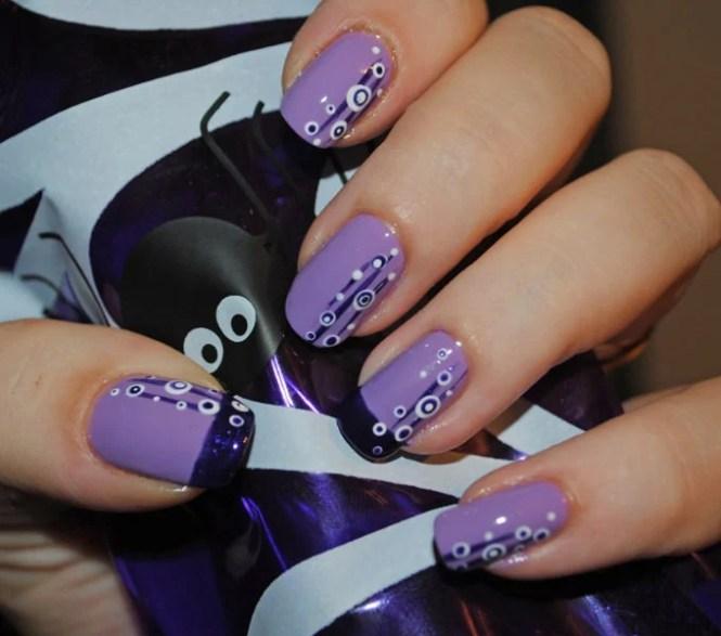 Free Hand Nail Art Design