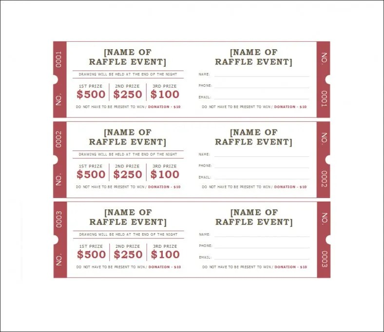 Event Ticket Templates  Event Ticket Maker