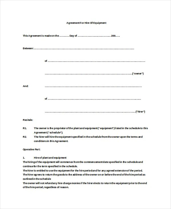 Doc581747 Free Lease Agreement Forms to Download Basic Rental – Rental Agreement Forms Free Download