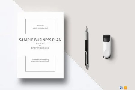 Business Continuity Plan Template   9  Free Word  PDF Documents     Business Plan Word Template